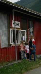 Kiosken under Sparebanken Vest sommarcup!