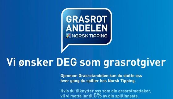 Bli grasrotgjevar til Norheimsund Fotballklubb!